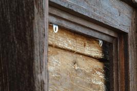 "Post & Beam - Cypress Floating 3.5"" Frame - Dark Walnut Finish - Vintage Rustic  - $27.00"