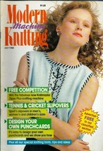 Modern Machine Knitting Jul 1988 Magazine Tennis & Cricket Slipovers in ... - $5.69