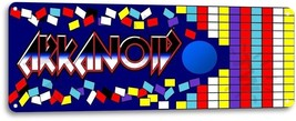 Arkanoid Classic Arcade Marquee Game Room Garage Wall Art Decor Metal Ti... - $9.99