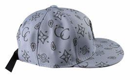 Crooks & Castles Men's Cement Monogram C Woven Strapback Baseball Hat Cap NWT image 3