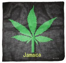 "22""x22"" Jamaica Weed Marijuana Cannabis 100% Cotton Bandana - $6.88"