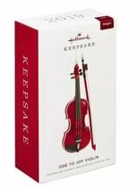 HALLMARK 2019 ODE TO JOY VIOLIN Ornament NEW Beethoven Magic Sound FREE ... - $59.99