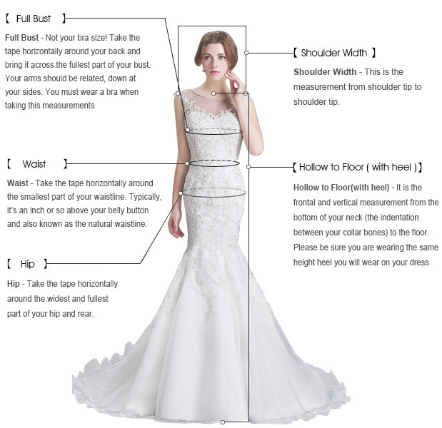 Ivory long sexy evening cheap wedding dress, side split Prom Dress, PD0317