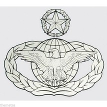 Air Force Master Law Enforcement 4 X 3 Inch Military Decal Sticker Military - $13.53