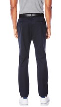 NEW MENS PERRY ELLIS SINGLE PLEATED TAPERED NAVY BLUE PANTS 30 X 30 $79 image 2