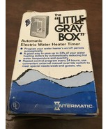 Intermatic WH40 Heavy Duty Switch Electric Water Heater Timer Gray New O... - $45.00