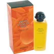 Hermes Aroma D'orange Verte Icy Energizing Cologne 3.3 Oz Eau De Toilette Spray image 3