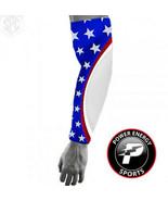 Titanium Baseball Sports Compression Arm Sleeve (USA Patriot Light Grey) - $8.99