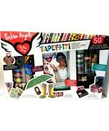 Fashion Angels Tapeffiti Super Set 50+ Project Ideas/50 Tapes NEW! - $23.20