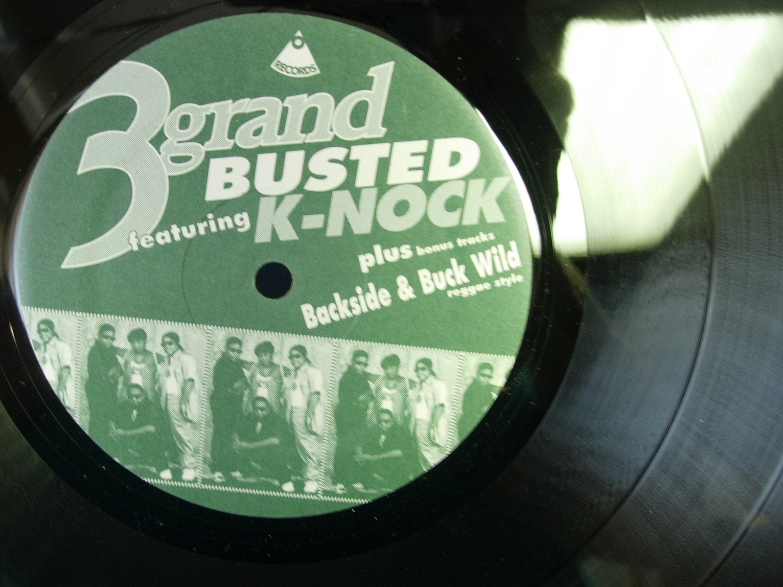 3 Grand featuring K-Nock - Busted - Backside - Buck Wild - 3G Records 12-PO-174