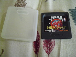 NBA Jam (Sega Game Gear, 1994) Cartridge Only! Tested And Works japan im... - $7.91