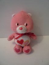 "Care Bears Baby PInk Love A Lot  Bear 9"" Plush Stuffed Animal Toy 2002 - $7.92"
