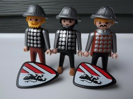 Playmobil #7124 Three Castle Guards - $24.00