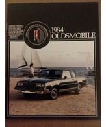 1984 Oldsmobile Sales Brochure Catalog - Cutlass Supreme Toronado Delta ... - $10.19