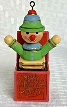 Vintage 1977 Jack in the Box  Hallmark Tree Trimming Ornament Christmas - $9.99