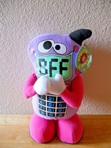 "New BFF Best Friends Forever Plush Cell Phone Stuffed Toy 10"" Tall - $9.49"
