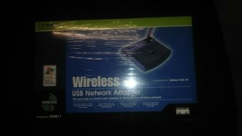 LINKSYS WIRELESS USB NETWORK ADAPTER free s&h Model WUSB11 Ver 2.6 New - $9.89