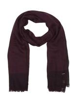 Diesel Unisex Shea 00SLBA Wool Scarf Purple - $137.61
