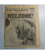 New York Post September 11 1987 Pope Jan Pawel John Paul II Miami Reagan N2 - $39.99