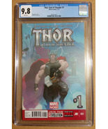 Thor: God of Thunder #1 CGC 9.8 2013 1st printing - $105.00