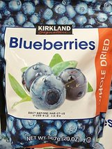 20oz Kirkland Whole Dried Blueberries, Pack 4 - $55.43