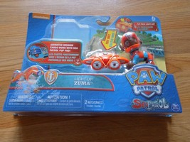 Nickelodeon Paw Patrol Light Up Zuma Puppy Dog Pup Pack New Missing Mission Card - $15.00