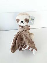 Moon & Stars Baby Sloth Animal Lovey & Stuffed Plush Security Blanket Mi... - $19.62