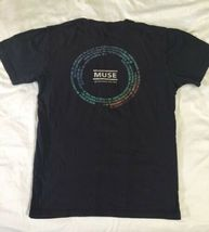 Muse Resistance 2010 Tour Men/Unisex T-shirt Size Small Soft and Comfy image 3