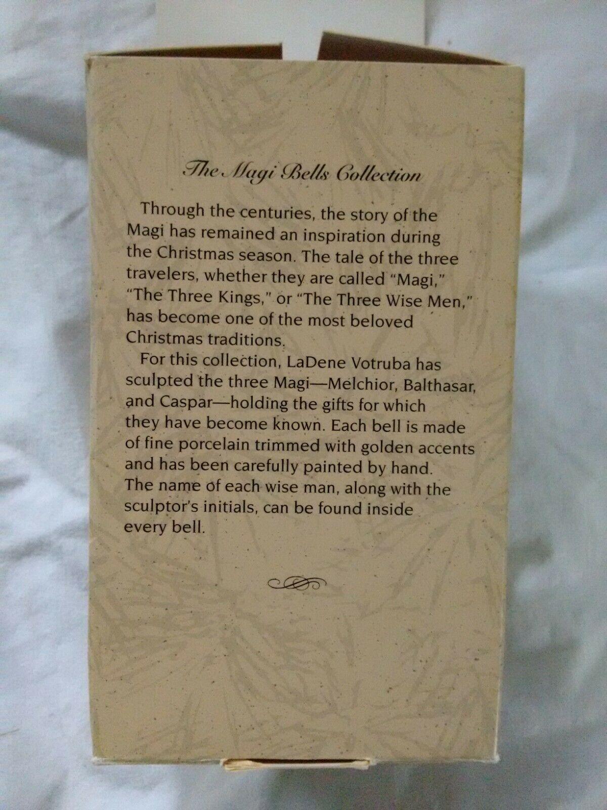 Magi Bells Caspar Myrrh 1996 Hallmark Keepsake # 01184 image 9
