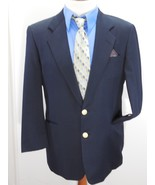 HICKEY FREEMAN BoardRoom Mens 41R LORO PIANA Classic 110s BLACK Jacket/B... - $97.99