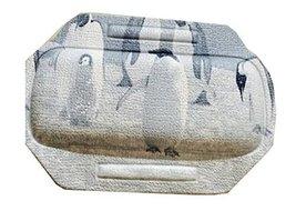 PVC Environmental Massage Bath Spa Pillow Non-skid Sucker Tub Cushion-Star - $16.43