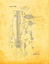 Self Propelled Toy Fish Patent Print - Golden Look - $7.95+