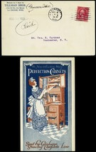 Perfection Cabinets 1924 All Over Advertising Cover - Stuart Katz - $75.00