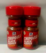 (2) McCormick Chipotle Black Pepper Seasoning, Best By Date 2/18, Sealed - $18.76