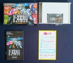 Used F-ZERO CLIMAX Game Boy Advance 2004 Nintendo Japan image 2