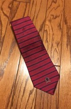 Tommy Hilfiger 100% Silk Neck Tie Red - $9.99