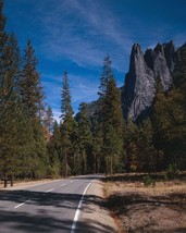 Sentinel Rock granite peak in Yosemite National Park California Photo Print - $6.16+
