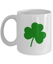 St. Patricks Shamrock Gift Coffee Mug - 11oz - Irish Gift Ideas - $13.95