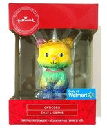 Hallmark Caticorn Cat Unicorn Christmas Ornament Rainbow Glitter Walmart... - $14.95