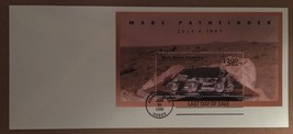 Mars Pathfinder Last Day of Sale  June 20, 1998 USPS $3.00 Stamp - $5.39