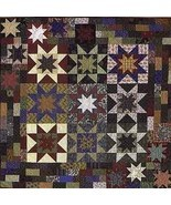 PT1733 Double Sawtooth Star by C&T Publishing, Quilt Pattern - $9.85