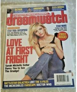 1st ed. DREAMWATCH Magazine Pristine Condition Nov. 2002 Sarah Michelle ... - $39.19