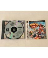 Crash Bash Collector's Edition Sony Playstation One 1, Disk and Instruct... - $19.99