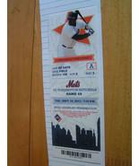 New York Mets Full Ticket Stub 9/10/2013 Vs. Washington Nationals Bobby ... - $2.72