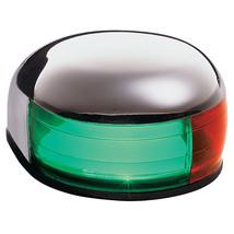Aqua Signal Series 24 Bi-Color Deck Mount Light w/Tell Tale Indicator [24105-7] - $43.24