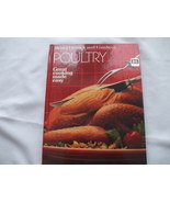 Poultry Hardcover Cookbook By Better Homes and Gardens   - $19.99