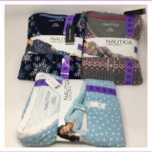Nautica Women's 2 Piece Fleece Pajama Sleepwear Set - $13.53+