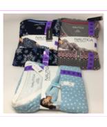 Nautica Women's 2 Piece Fleece Pajama Sleepwear Set - $12.02+