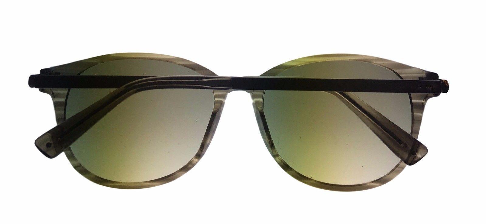 Kenneth Cole New York Mens Sunglass Soft Round Black, Smoke Lens KC7006 98F image 5
