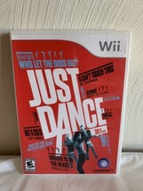 Just Dance (Nintendo Wii, 2009) Complete, Tested - $9.89
